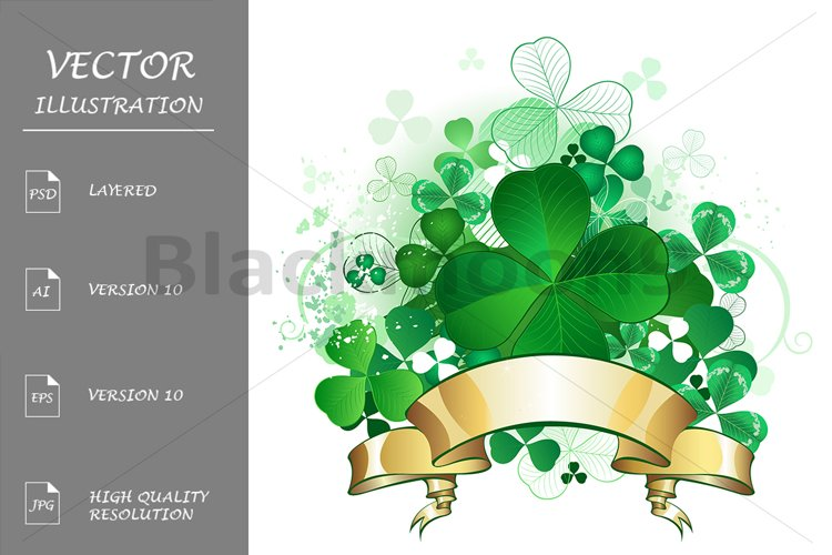 Clover with Banner example image 1