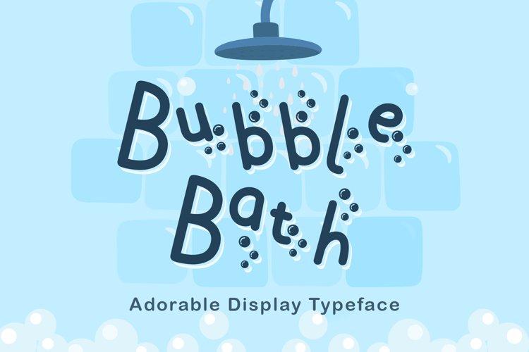 Bubble Bath example image 1