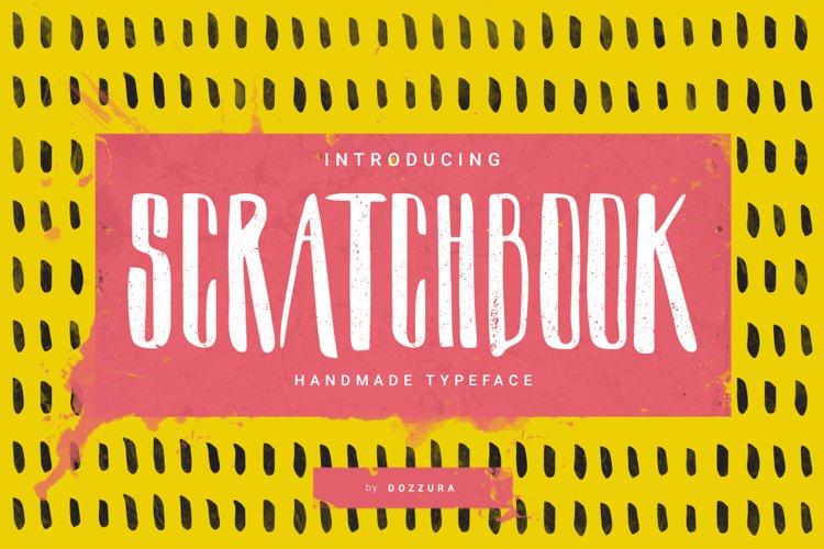 Scratchbook Typeface