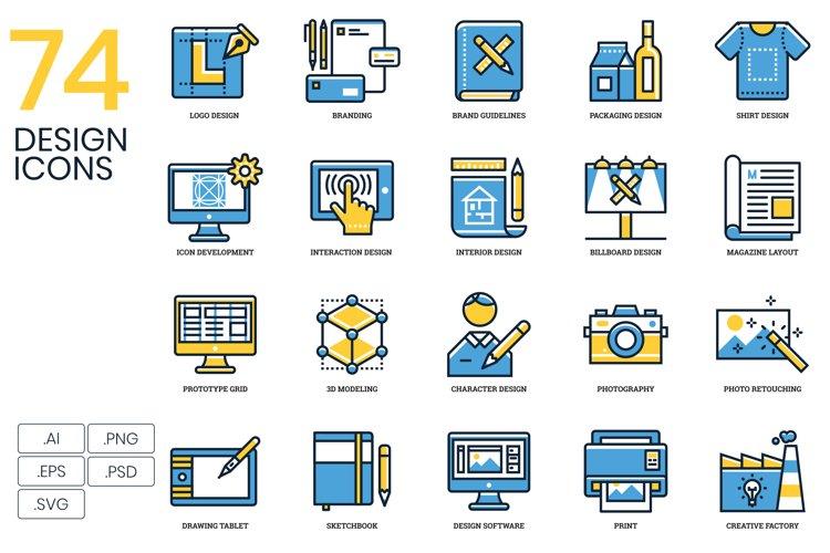 74 Design Icons