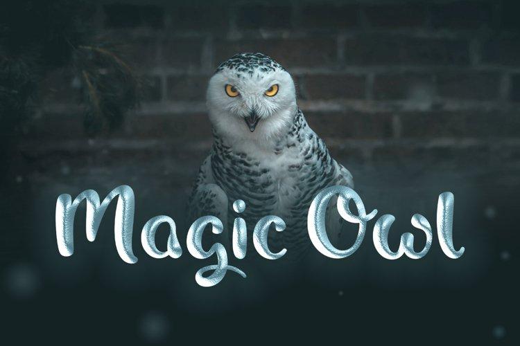 Magic Owl - A nostalgic Typeface