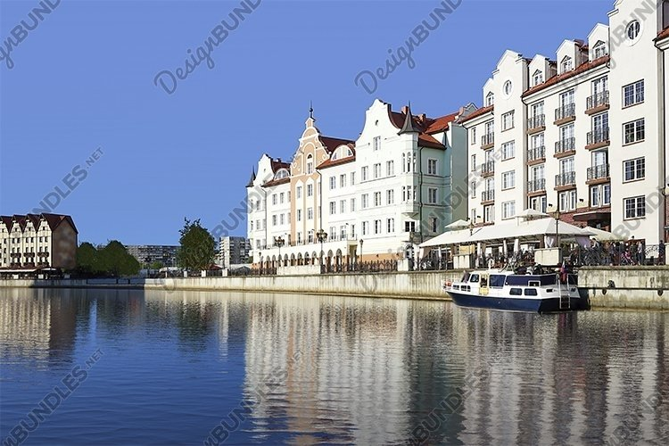 The urban landscape of the city of Kaliningrad example image 1