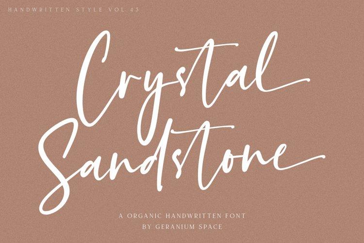 Crystal Sandstone example image 1