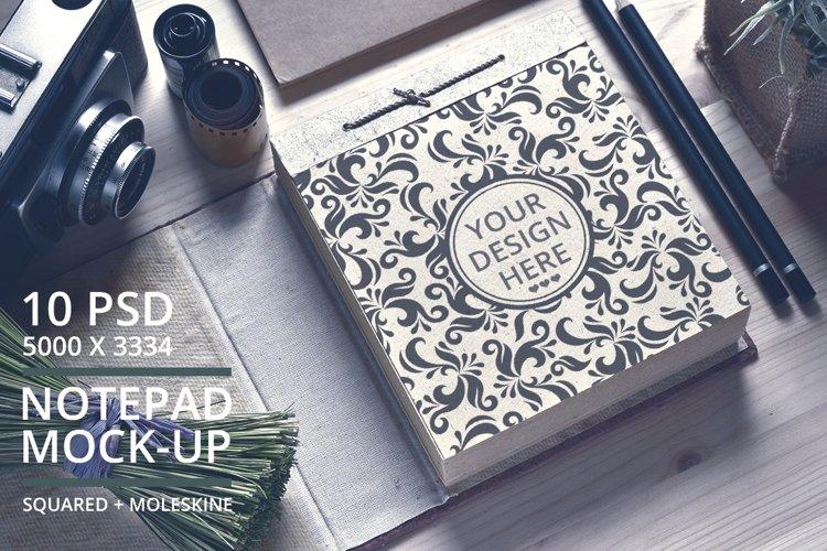 Notepad Mock-Up Bundle