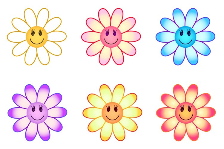 Smiling flowers example image 1