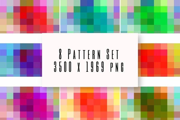 Pattern Background Set