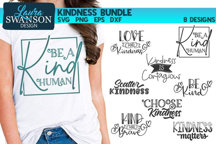 Kindness SVG Bundle  Motivational SVG Cut Files example image 1