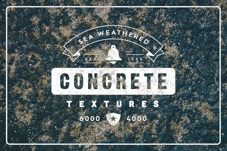20 Weathered Sea Concrete Textures example image 1