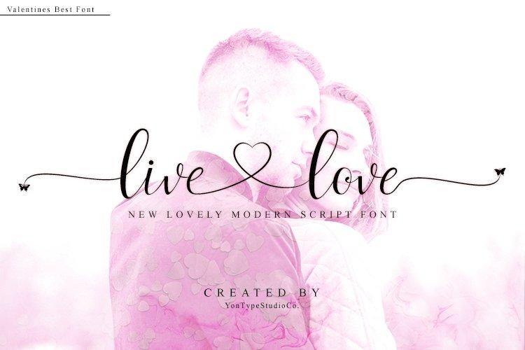 live love font