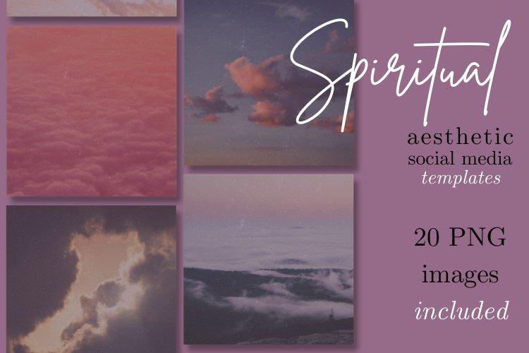 20 Spiritual Instagram Templates | Meditation and Yoga