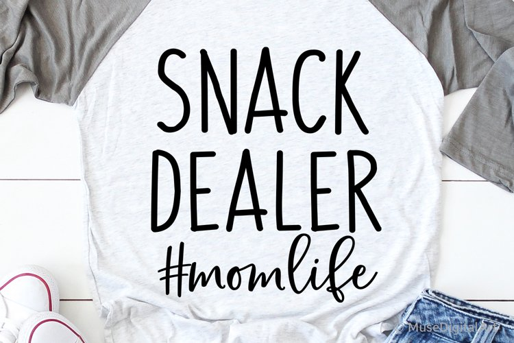 Mom Funny Svg, Snack Dealer Svg, Funny Saying Svg Chaos Mess example