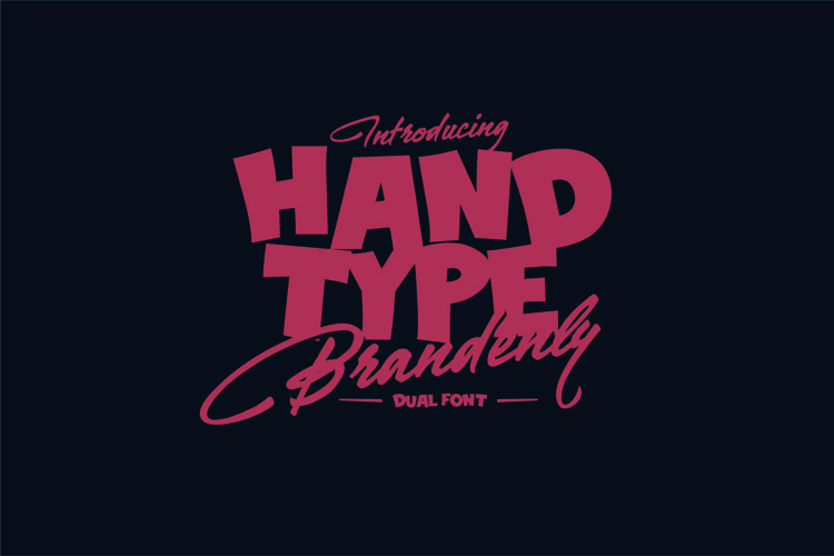 Brandenly Font example image 1