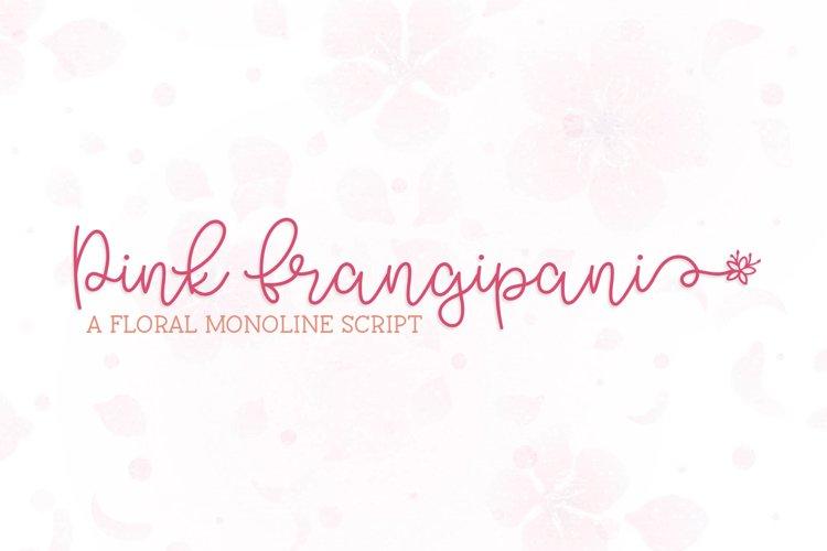 Pink Frangipani example image 1