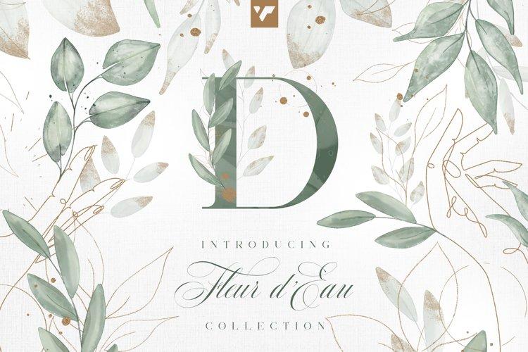 Fleur d'Eau Graphic Collection example image 1