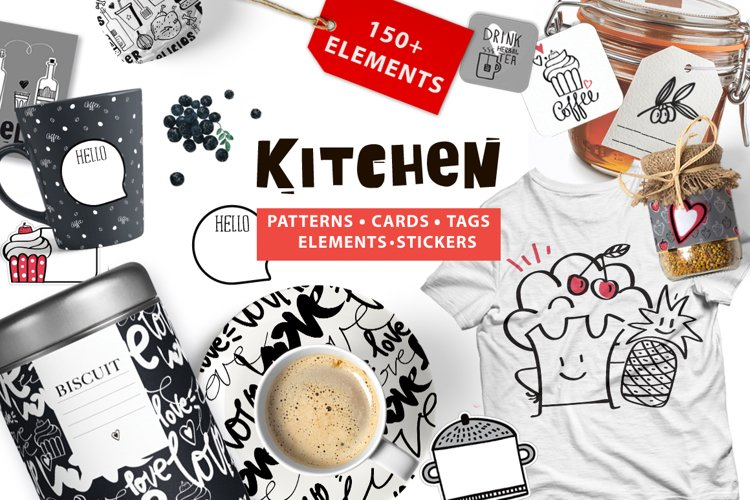 KITCHEN (graphic pack)