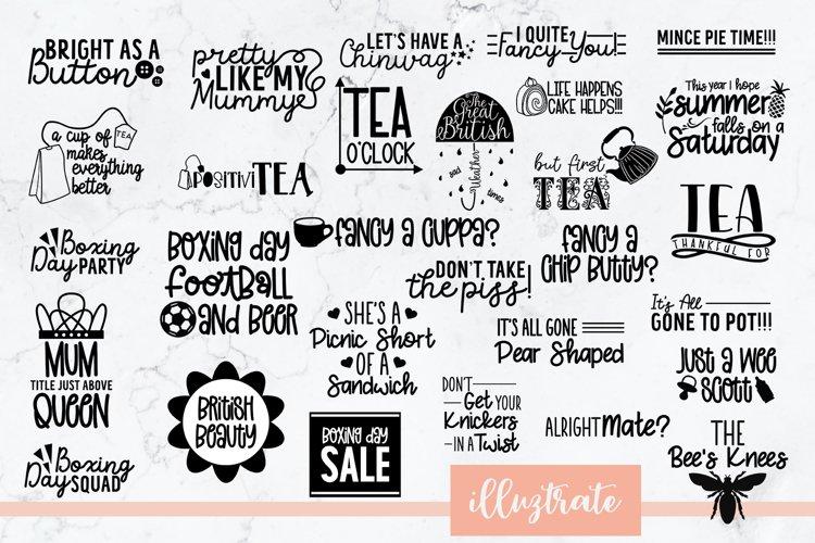 British SVG Bundle | British SVG Cut Files example image 1