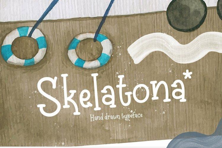 Web Font Skelatona example image 1