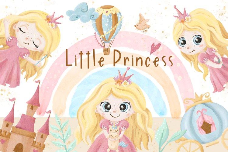 Little Princess Watercolor Set