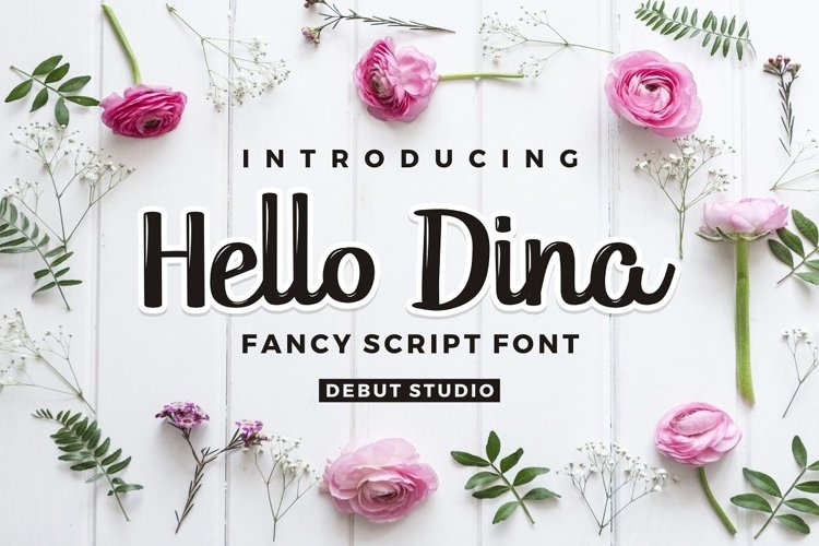 Hello Dina Script