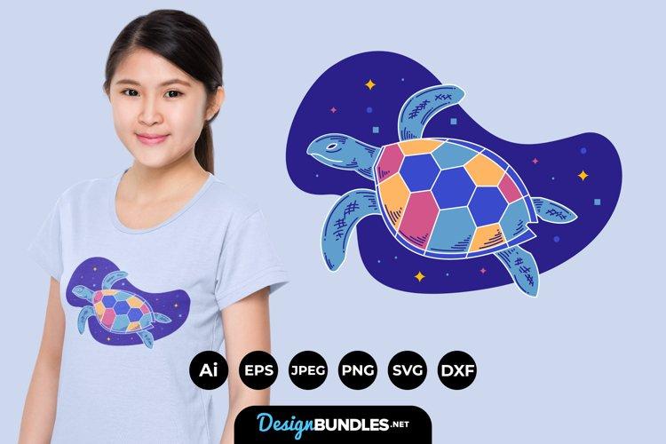 Turtle Illustrations for T-Shirt Design