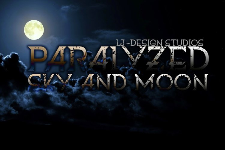 Paralyzed sky and moon example image 1