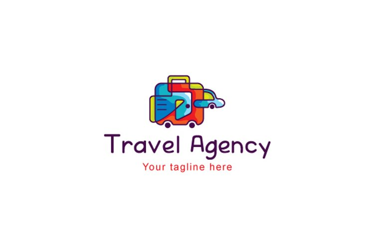 Travel Agency - Tourism & Hosting Stock Logo Template example image 1