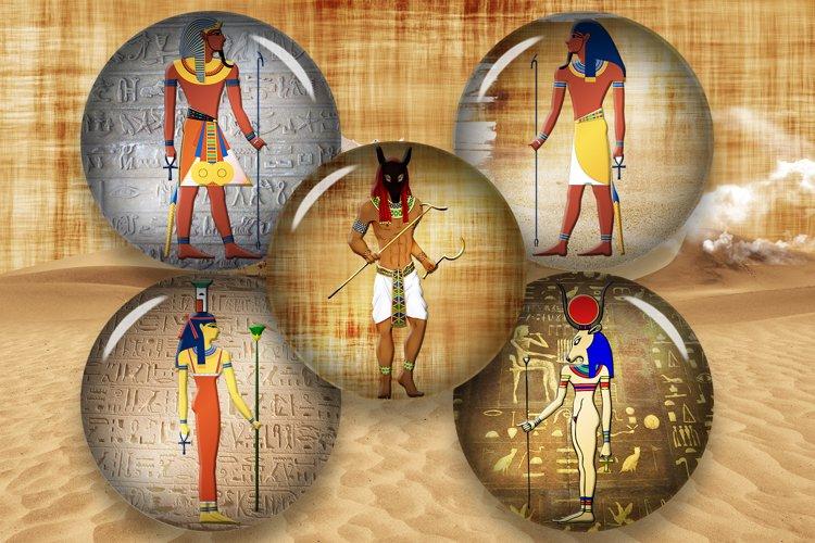 """Egyptian Art,2"""",1.5"""",1.25"""",1"""",35,30,25,20,18,16,14,12mm"""