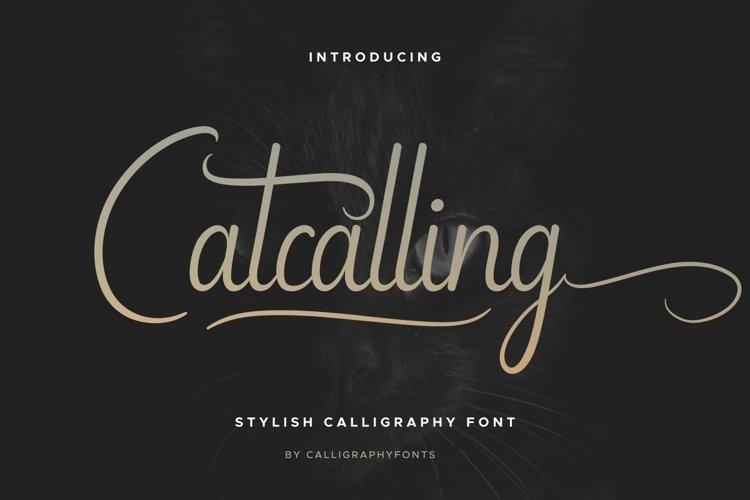 Catcalling
