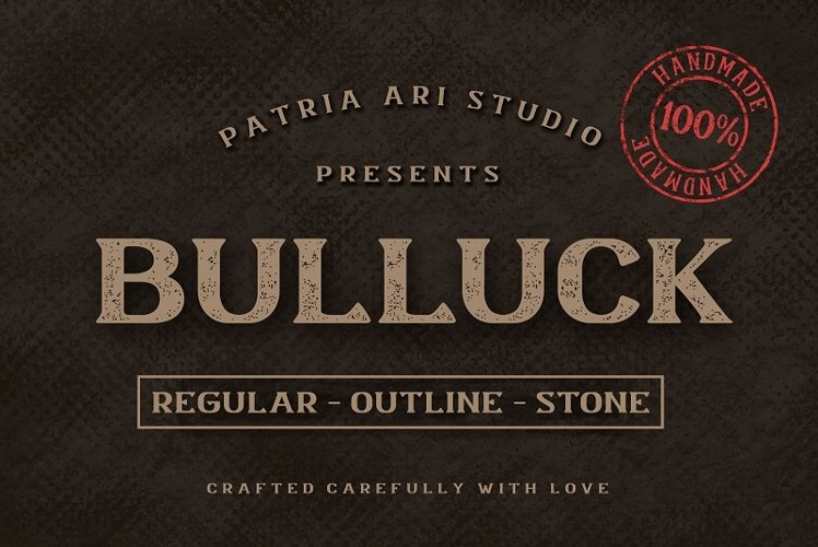 Bulluck - Serif Display Typeface example image 1