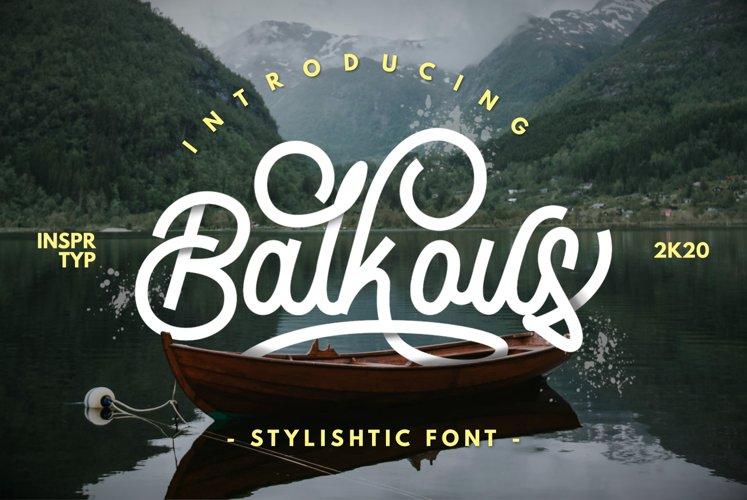 Balkous - Stylishtic example image 1