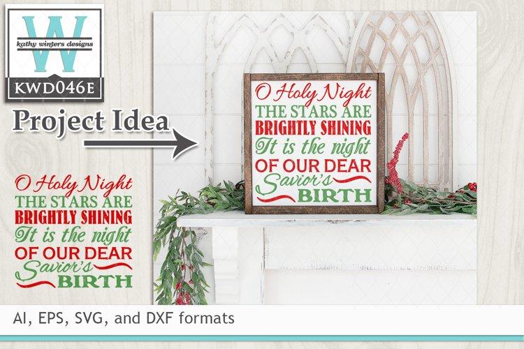 Christmas SVG - Christmas Subway Art example image 1