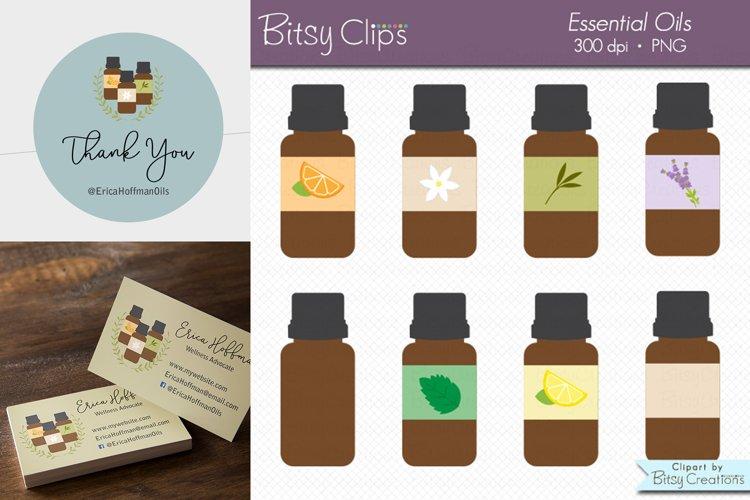 Essential Oil Clipart Digital Art Set Direct Sales Clipart example image 1