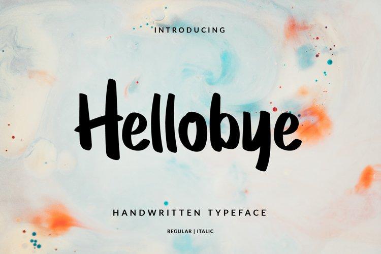 Hellobye example image 1
