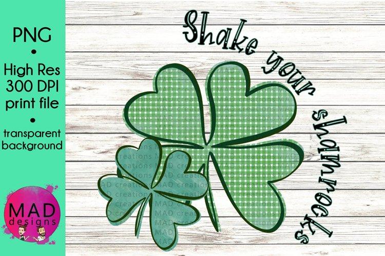 Saint Patricks Day - Shake Your Shamrocks