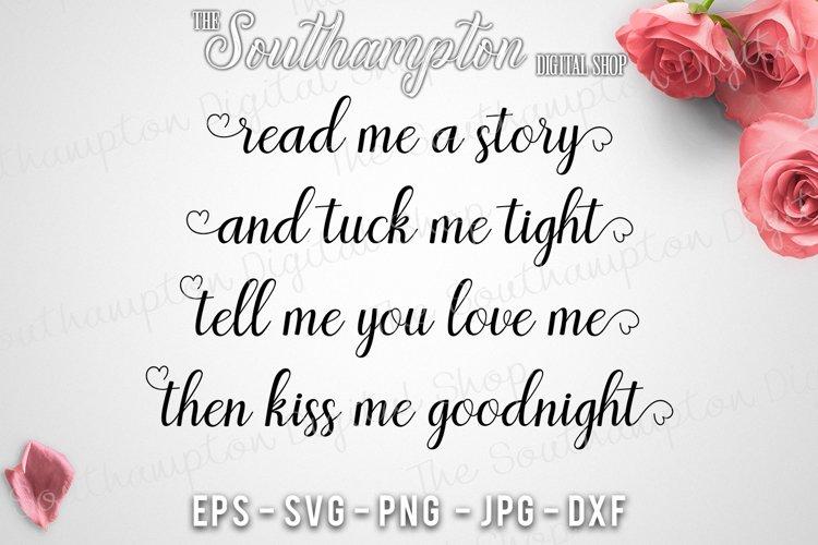 Read Me A Story Bedtime Quote 78126 Svgs Design Bundles