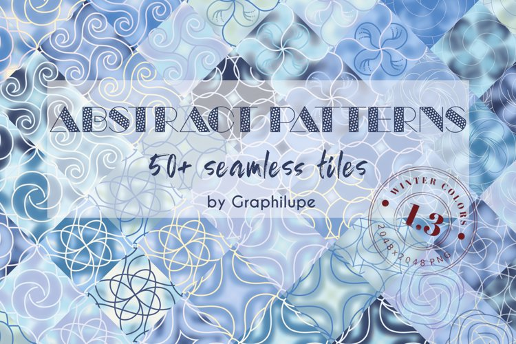 Abstract Patterns Vol. 1.3 - Winter Edition example image 1