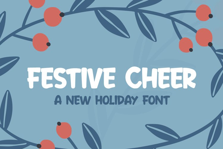 Festive Cheer Font example image 1
