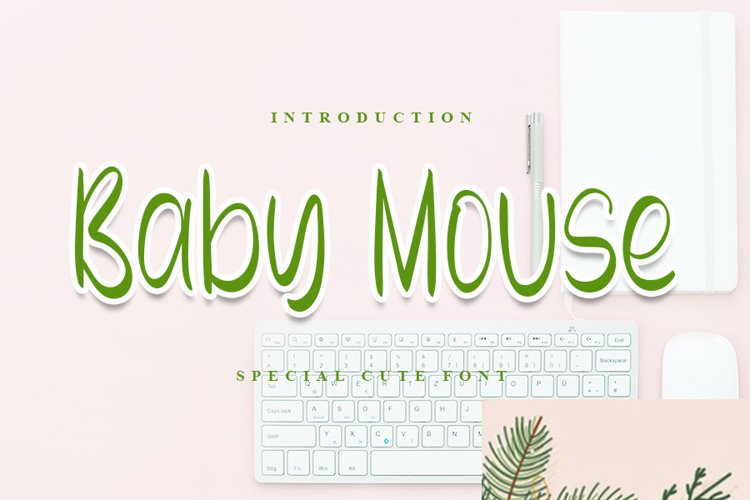 Baby Mouse - Special Cute Font example image 1