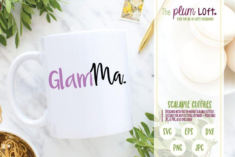 GlamMa - SVG example image 1