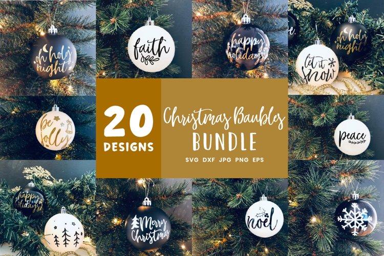 Christmas Ornament Designs |Christmas Svg Bundle Cut Files