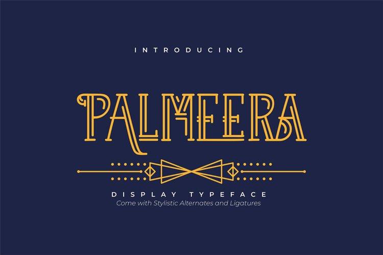 Palmeera | Display Typeface example image 1