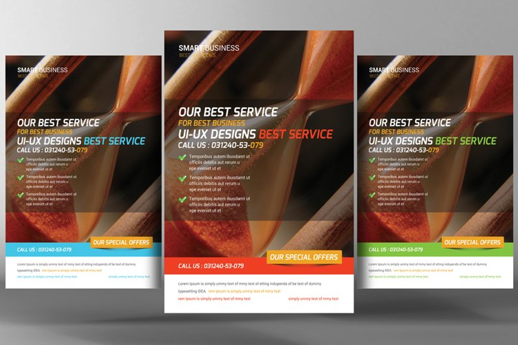 Corporate Business Promotion Flyer example image 1