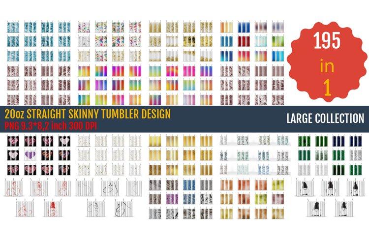 20oz STRAIGHT Skinny Tumbler Sublimation, Templates