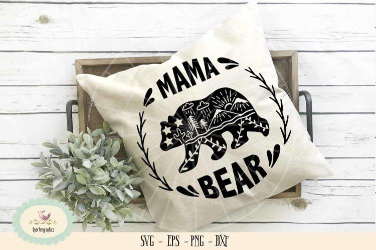 mama bear SVG PNG example image 1