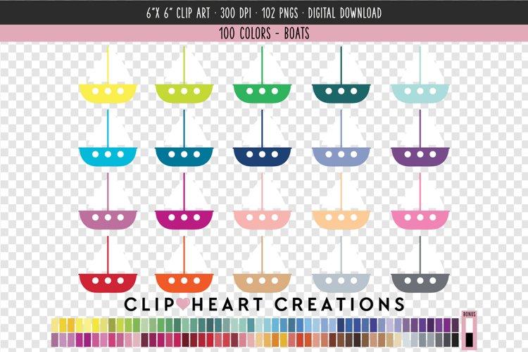Boats Clip Art - 100 Clip Art Graphics example image 1