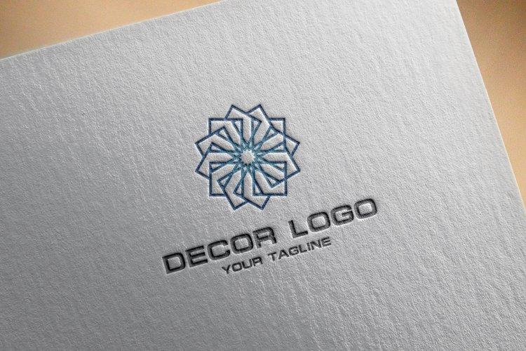 Decorative Logo example 1