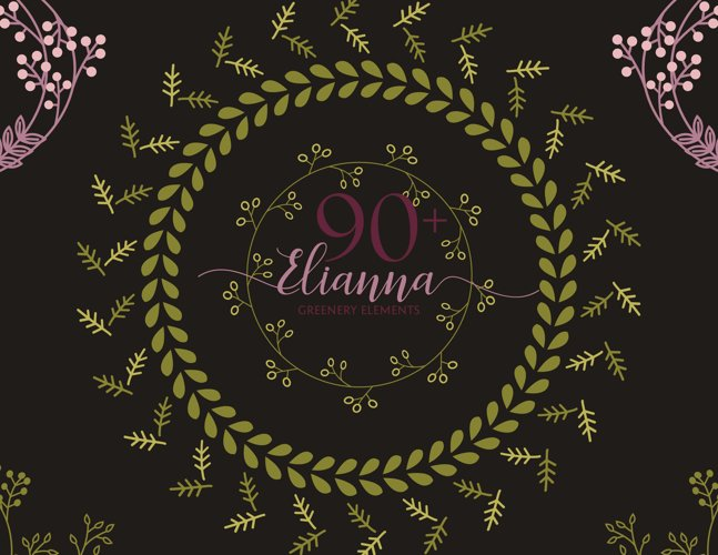 90+ Elianna Greenery Elements