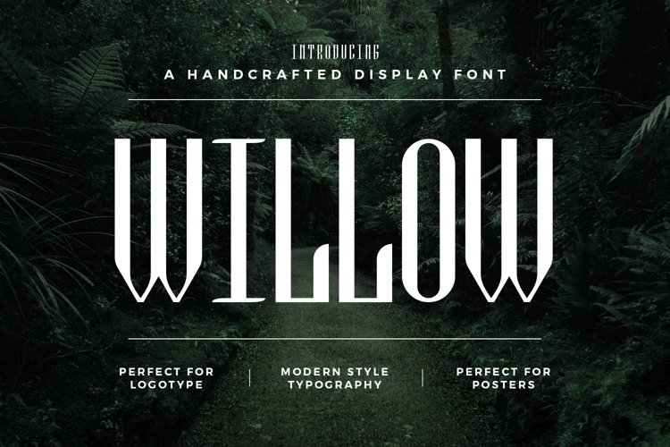 Web Font Willow example image 1