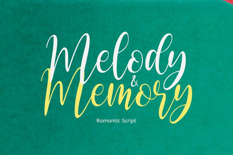 Melody and Memory example image 1