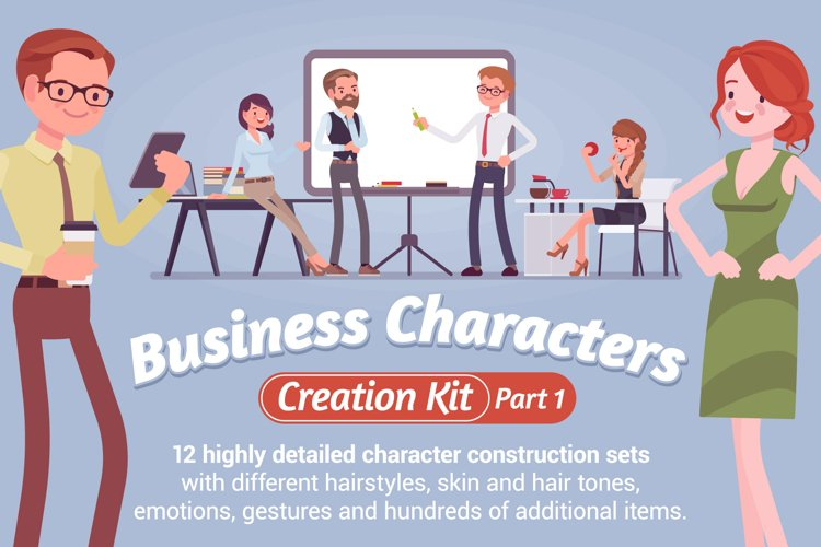 Business Characters Creation Kit